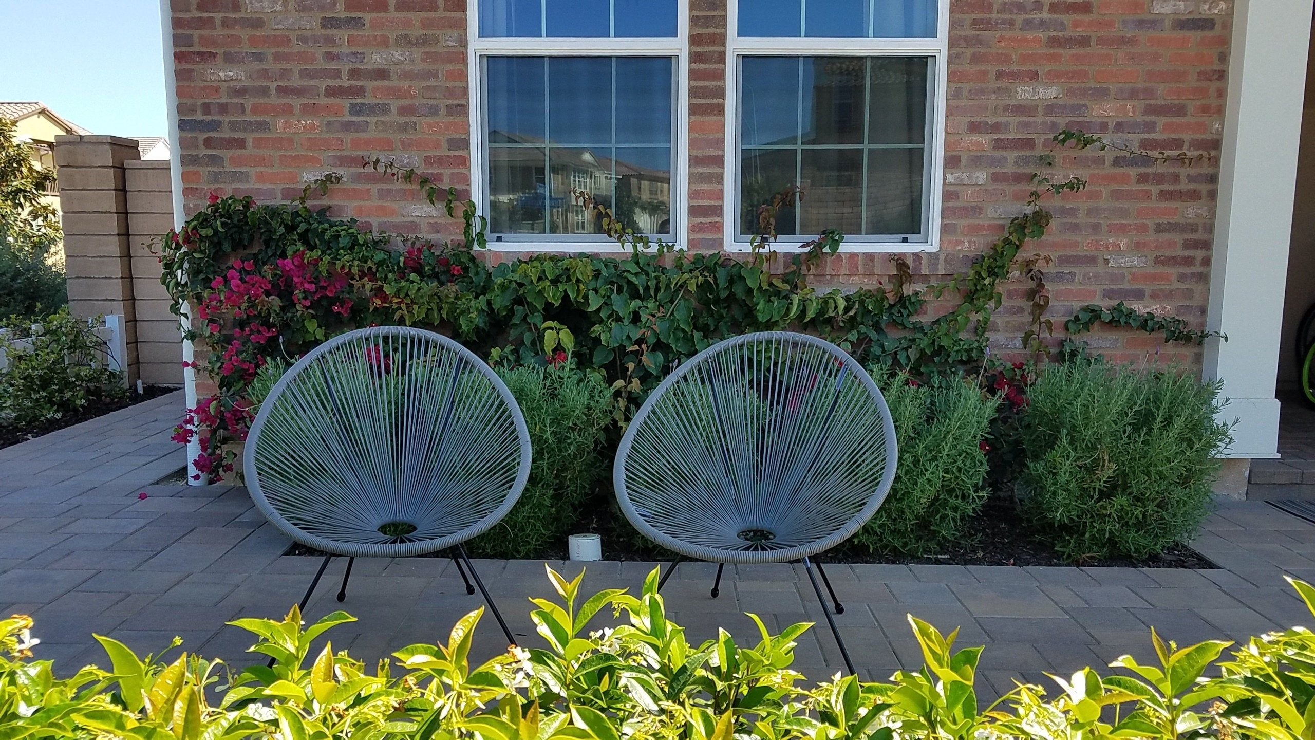 diy outdoor chair weaving