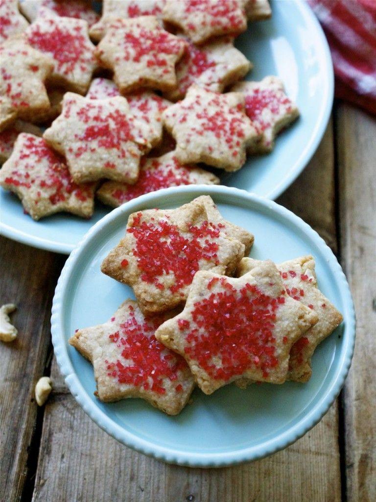 Shira S Vegan Cashew Shortbread Cookies