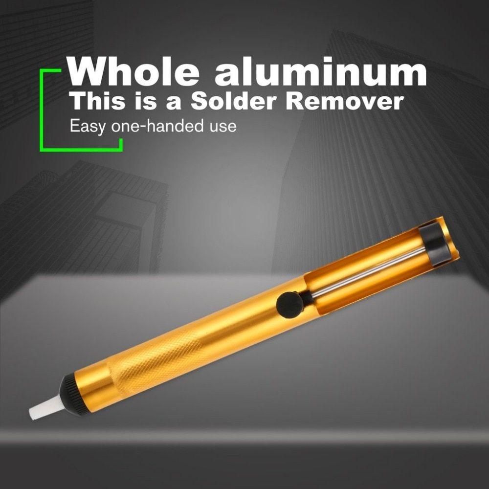 Welding Suction Tin Gun Aluminum Metal Desoldering Pump Soldering Sucker Pen