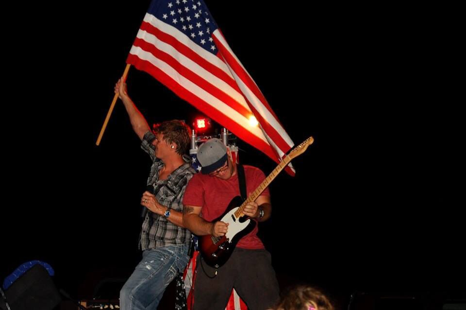 Hope you all had a great 4th of July! This pic of Zac and I is at Ocala Jaycees God and Country Day in #Ocala, FL. Great food and Fireworks!