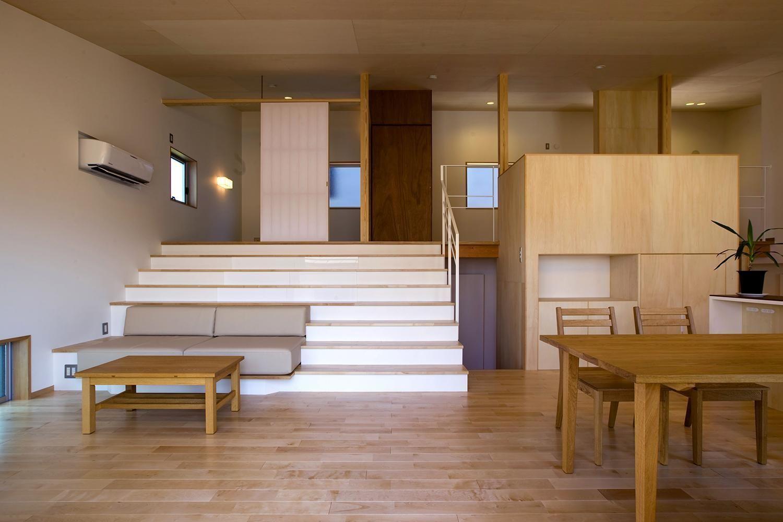 建築家:原浩二「カイダンダンの家」