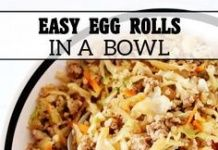 Eggroll in a Bowl #eggrollinabowl