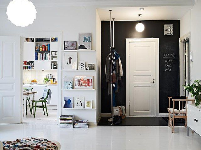 Scandinavian style dream house entryways interieur hal en