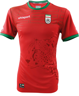 273070a27 Iran Away Kit for World Cup 2014  worldcup  brazil2014  iran  soccer   football  IRN