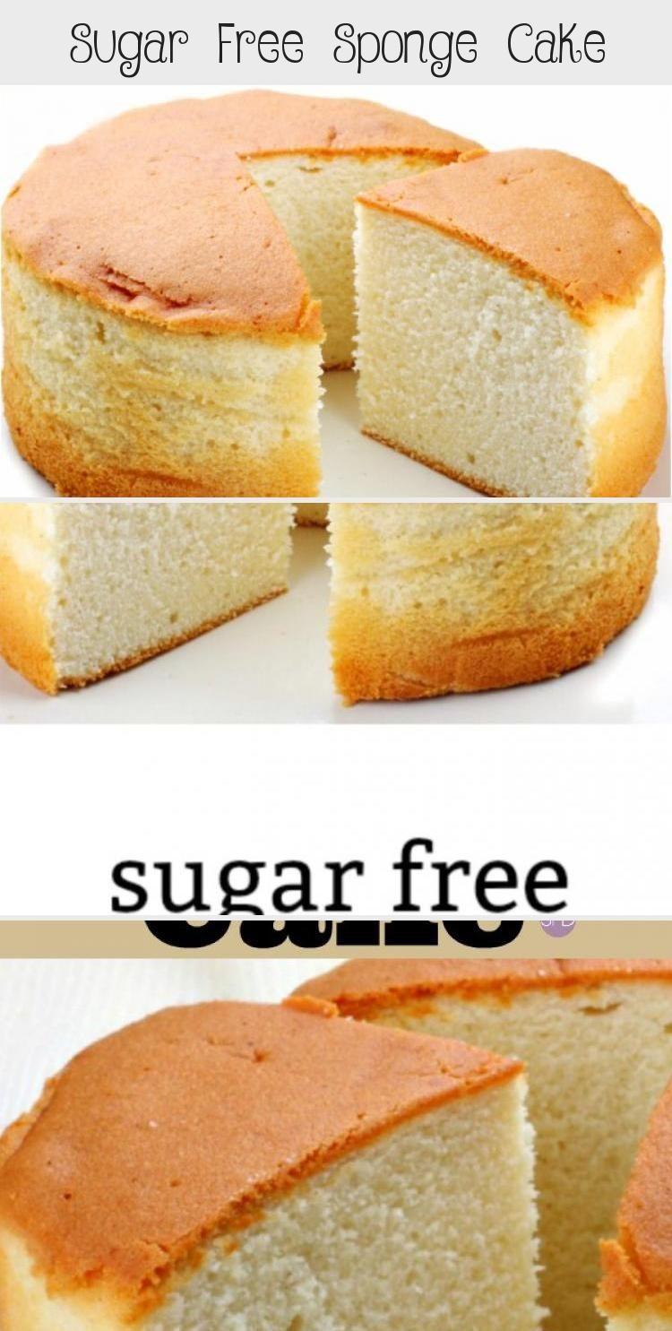 Sugar Free Sponge Cake Sugar Free Baking Sugar Free Desserts