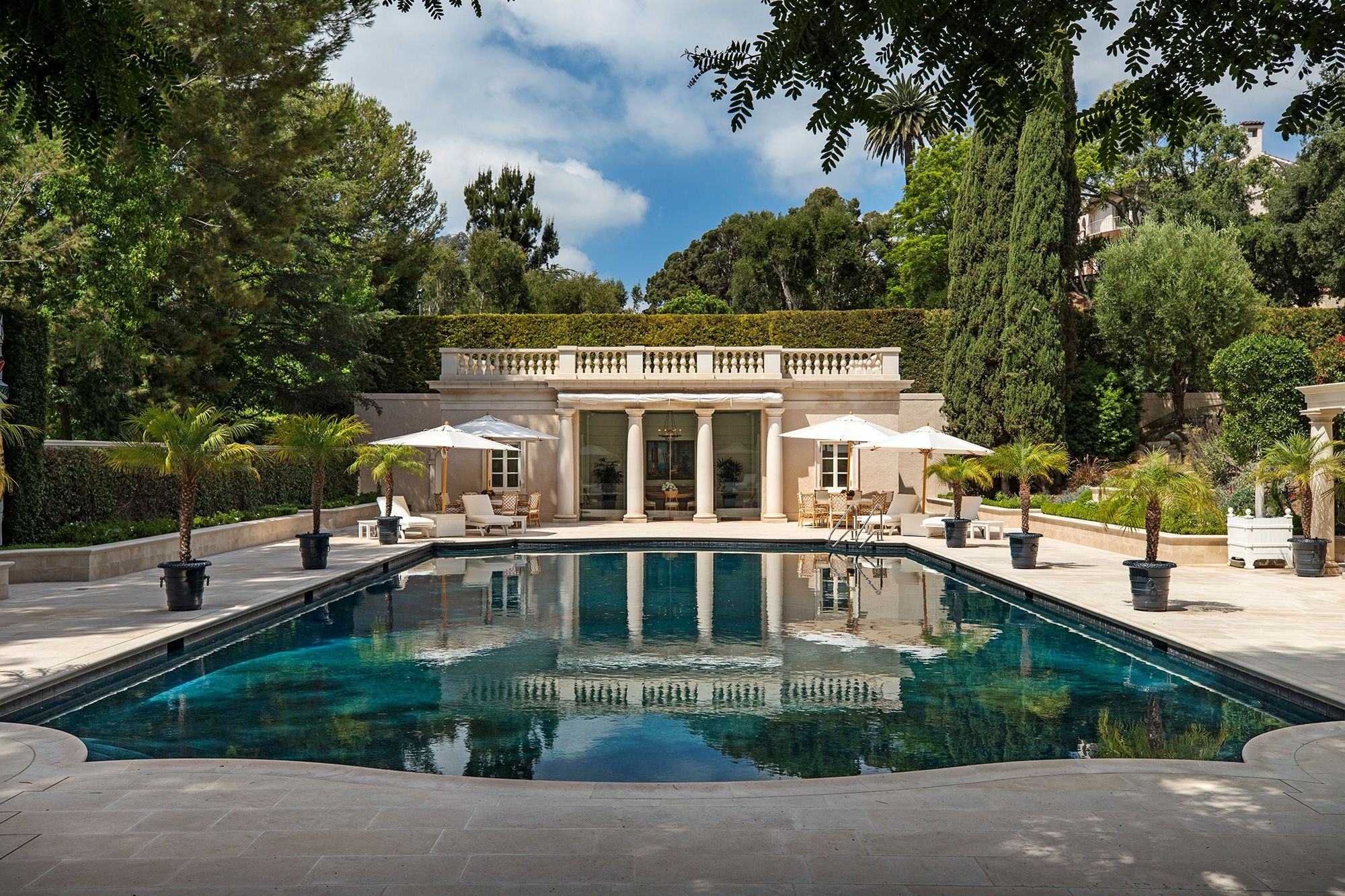 The Real Beverly Hillbillies Mansion Sells for about 150M