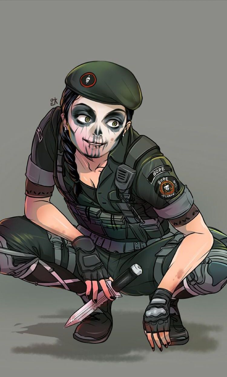 R caveira interrogating ash the rule