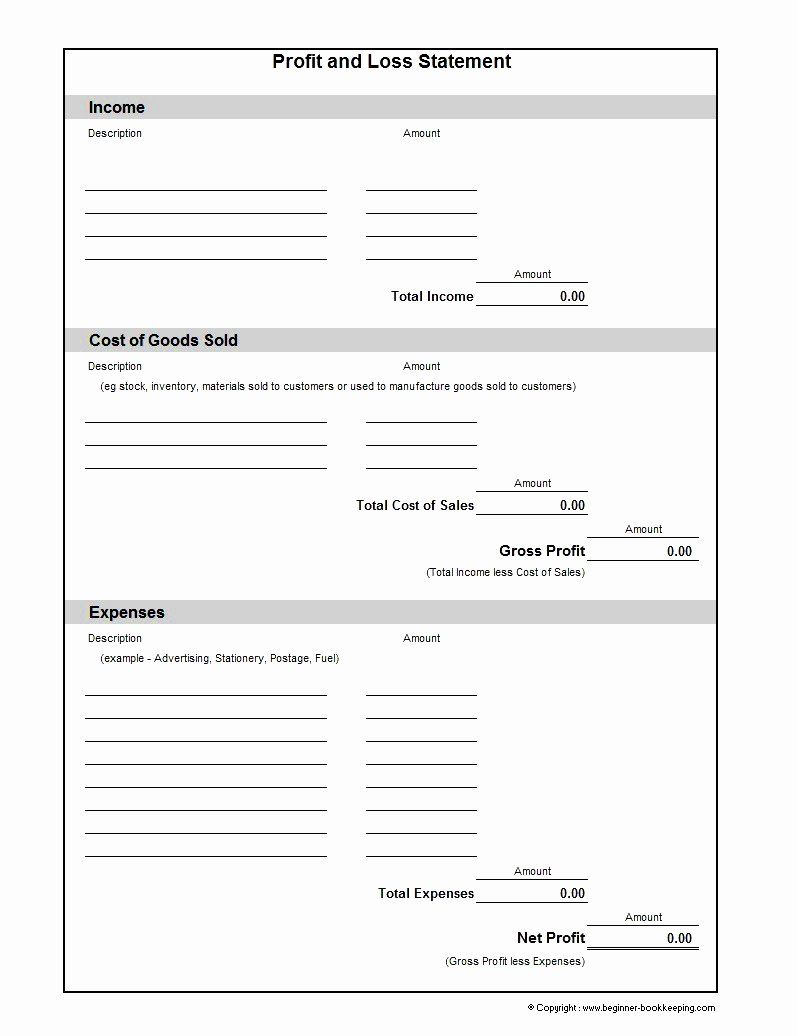 Blank Income Statement Template Luxury Basic Profit And Loss Statement Template Mughals Statement Template Income Statement Template Profit And Loss Statement