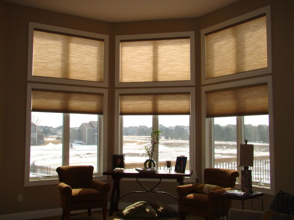 Window Treatments For Large Windows Before And After Window