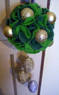 Alex creative: Vianočná závesná guľa