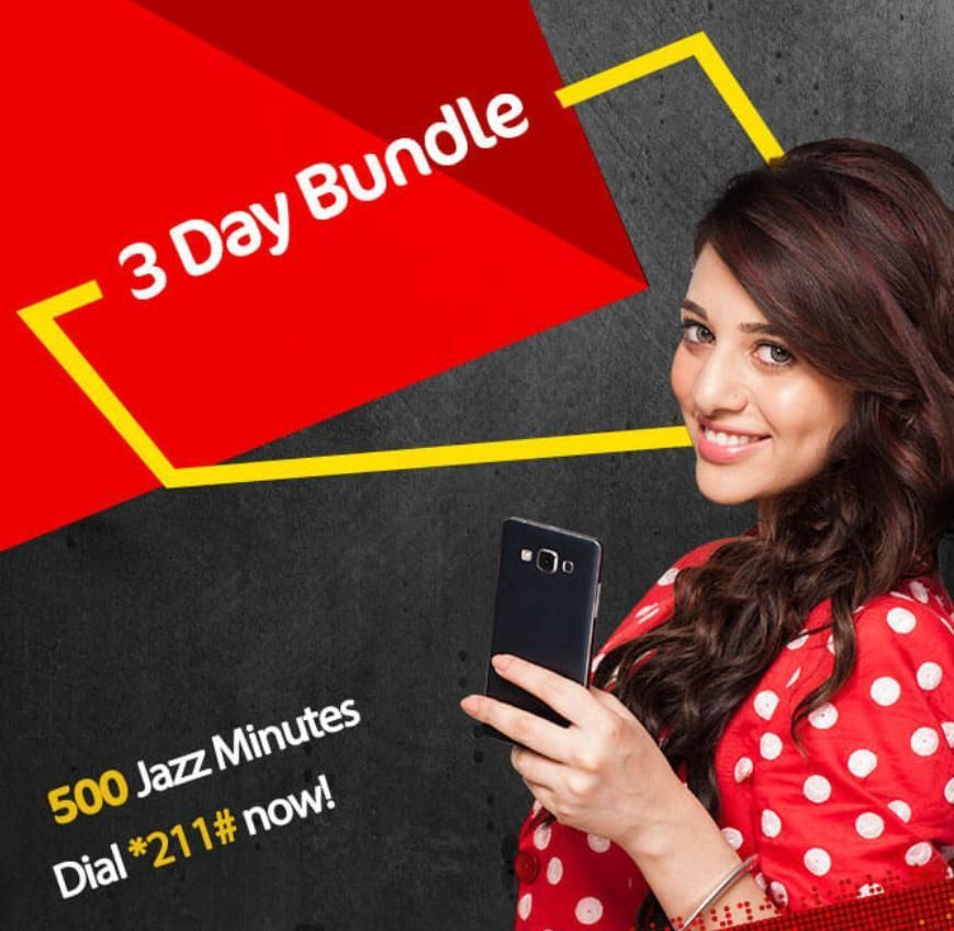 Mobilink Jazz 3 Day Bundle Offer In Rs 36 For All Packages Jazz Day Bundles