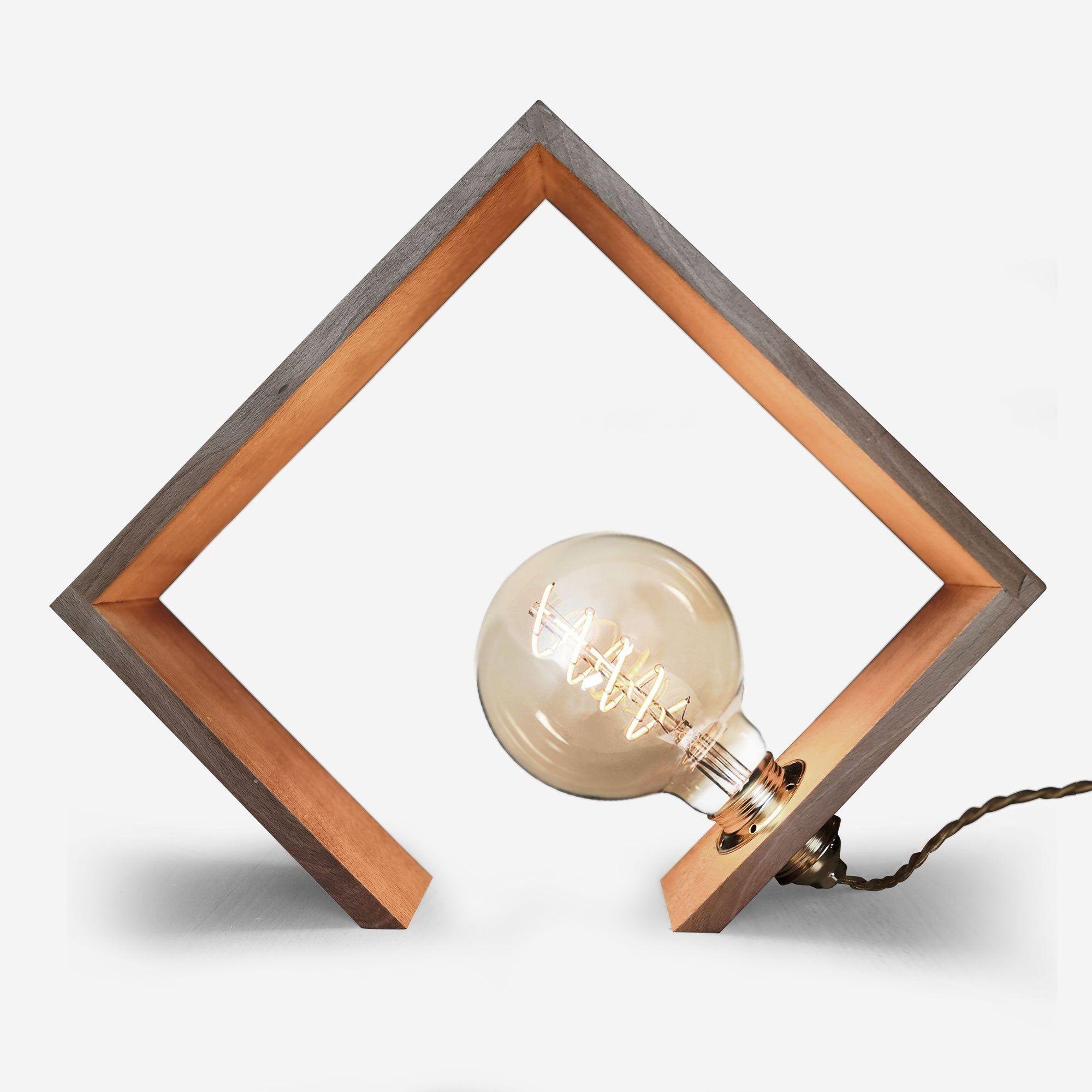 Amandine Wood Lamp Vintage Led Bulb Lamp Design Lamp Decoration Unique Model Designer Lamp Natural Wood Unique Lighting In 2020 Led Lamp Diy Vintage Led Bulbs Wood Lamps