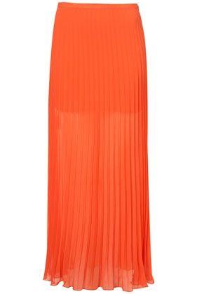 Pleated Maxi Skirt - StyleSays