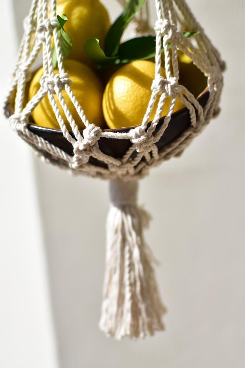 Machen selber obstkorb hängend Spielzeug Aufbewahrung