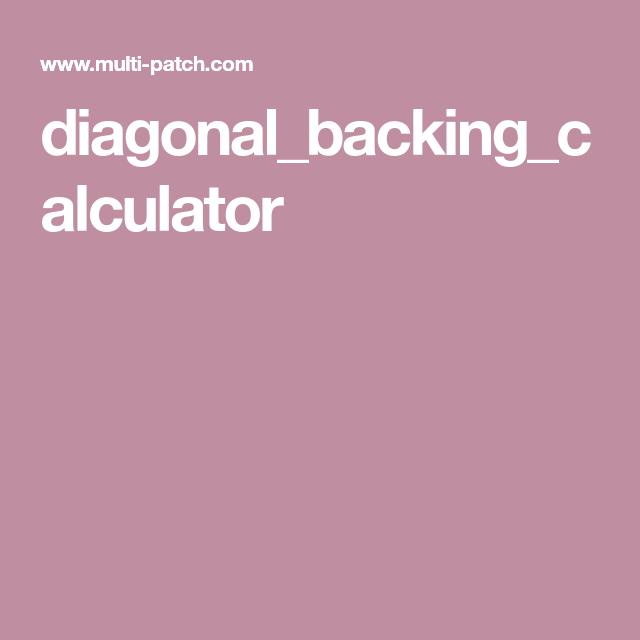 Diagonal_backing_calculator