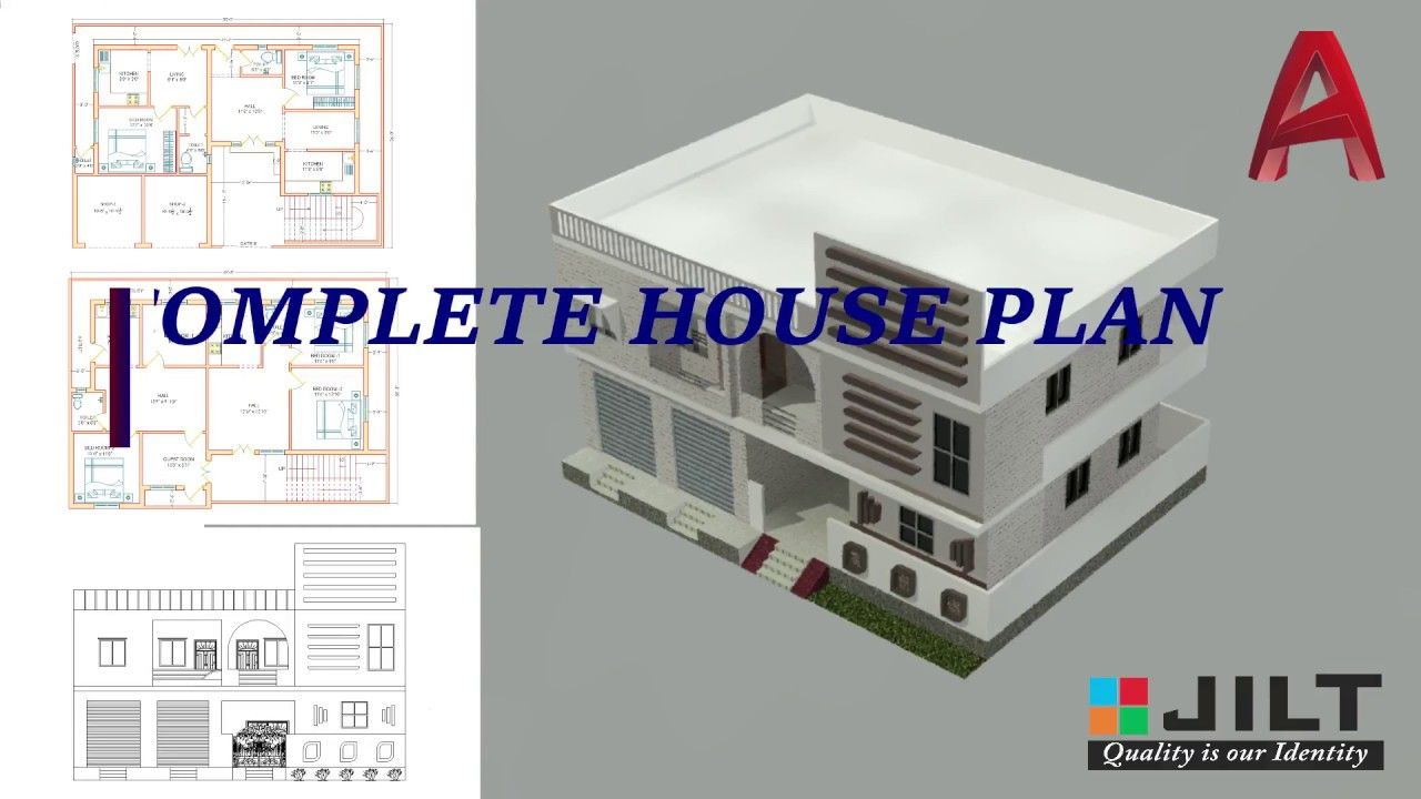 3d Multi Storey Building Design With Elevation Colours Texture Complete Dimensions Part 8 Multi Storey Building Building Design Building Elevation