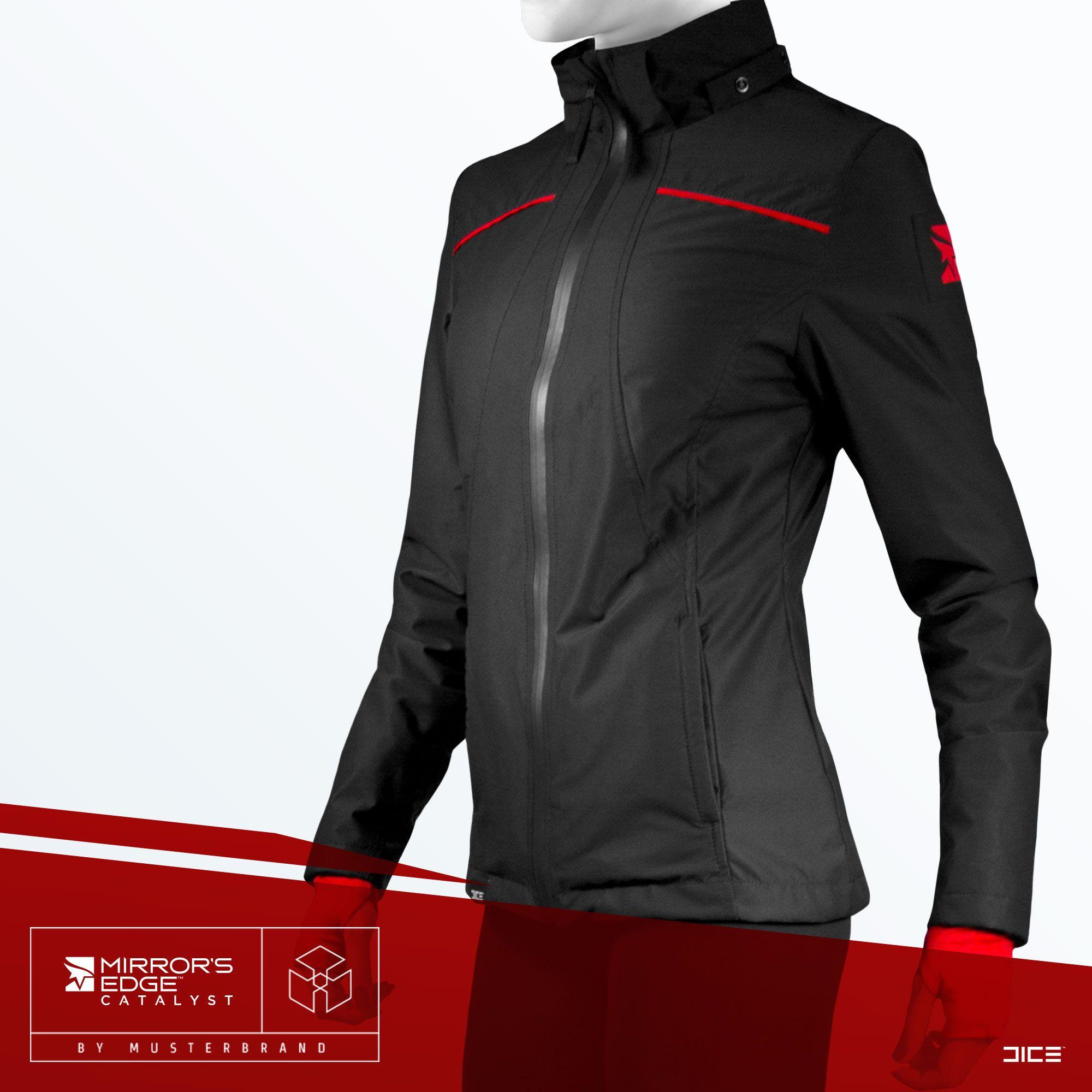 Shirt jacket design - The Faith Jacket Functional Female Free Runner Jacket Based On The Design Of Mirror S