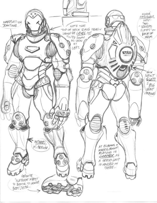 Iron Man - Suit Design Concept