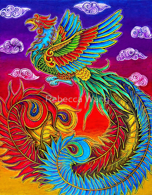 (China) Phoenix by Rebecca Wang