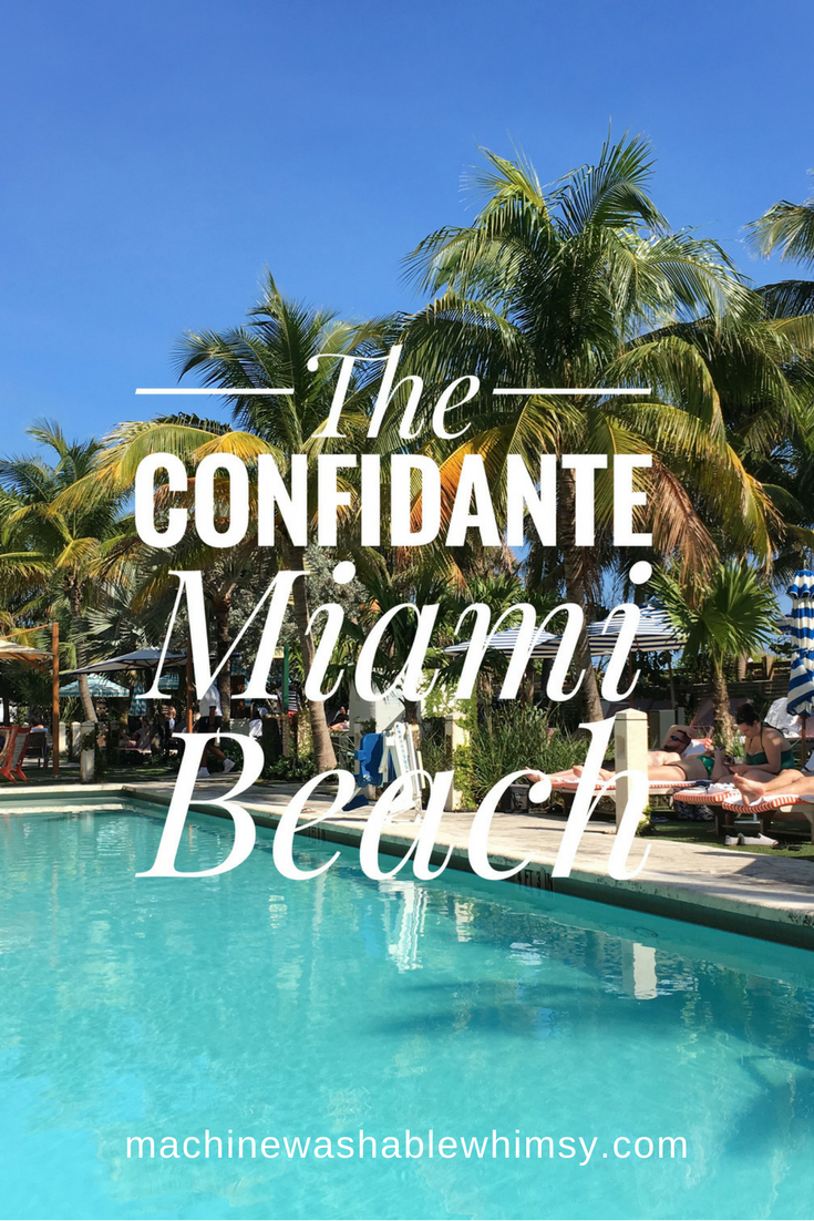 Hotel Review The Confidante Miami Beach From Machinewashablewhimsy Travel