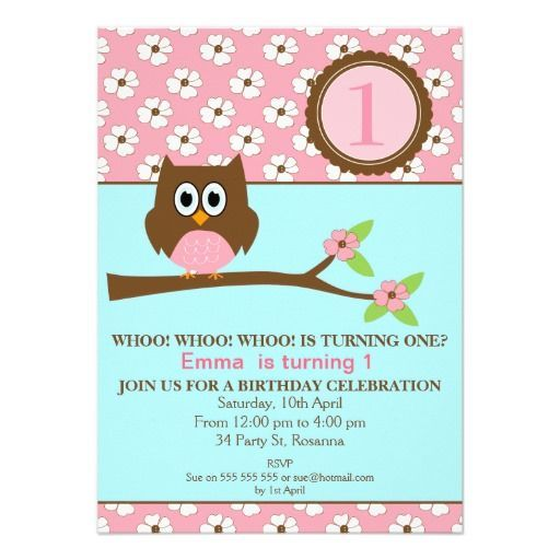 1st Birthday Party Invitations - (Click on pics) To view more items - best of invitation birthday party text