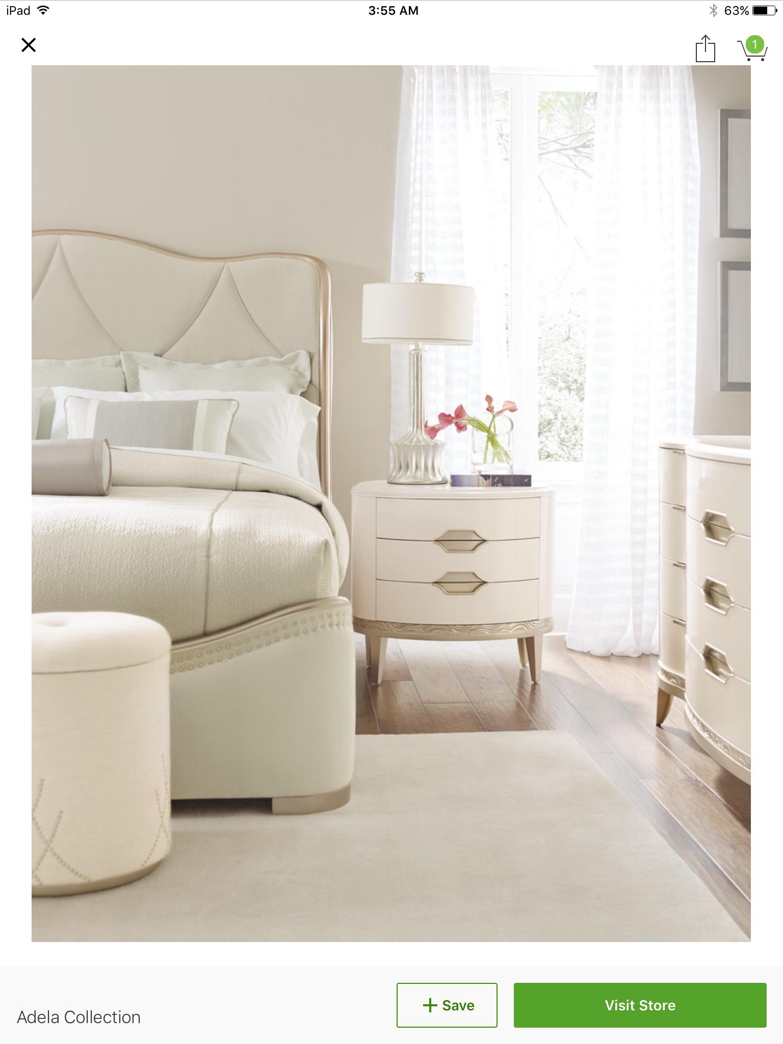 Beautiful Bedroom All in Cream Colours! | wedding- bedroom ...