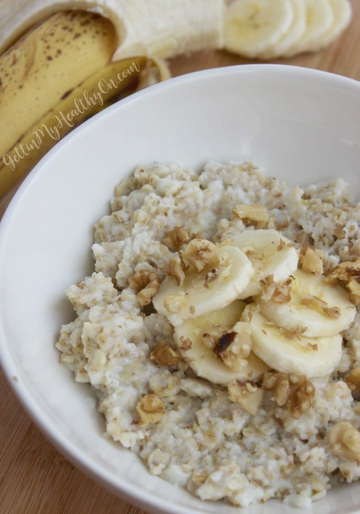 Egg White Oatmeal in the Microwave -   25 flat belly oatmeal ideas