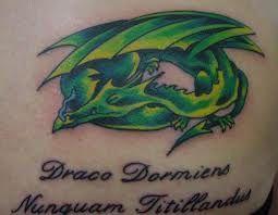 Pin By Chelsea On Draco Dormiens Nunquam Titillandus Harry Potter Tattoos Tattoo Parlors Pattern Tattoo