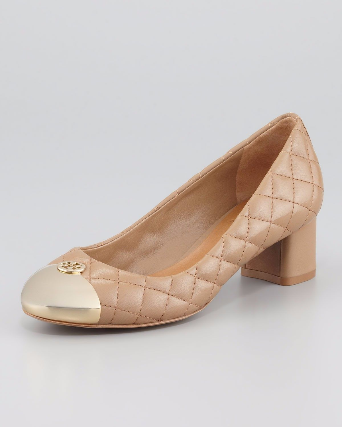 Tory Burch Quilted Cap-Toe Pumps cheapest price for sale new ZHh6T6mN7