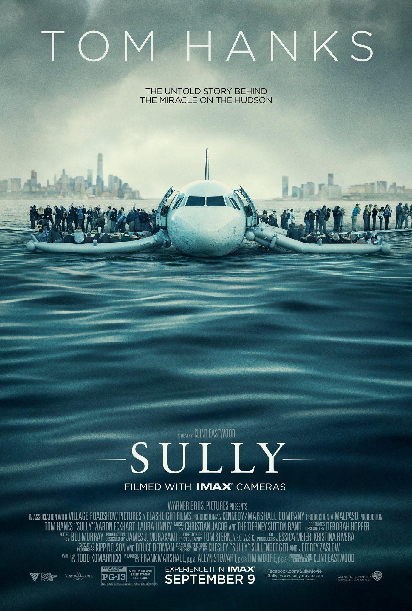 SULLY starring Tom Hanks In theaters & IMAX September 9