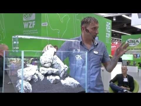my-fish - Freestyle Aquascaping by Oliver Knott - Linea Zero - Time for a Revolution - Interzoo 2014 - YouTube