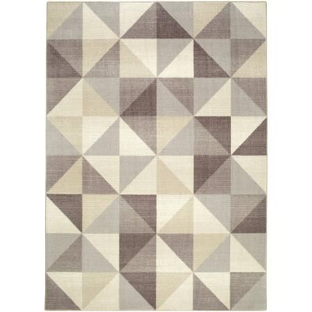 Better Homes And Gardens Textured Triangles Nylon Printed Rug   Walmart.com