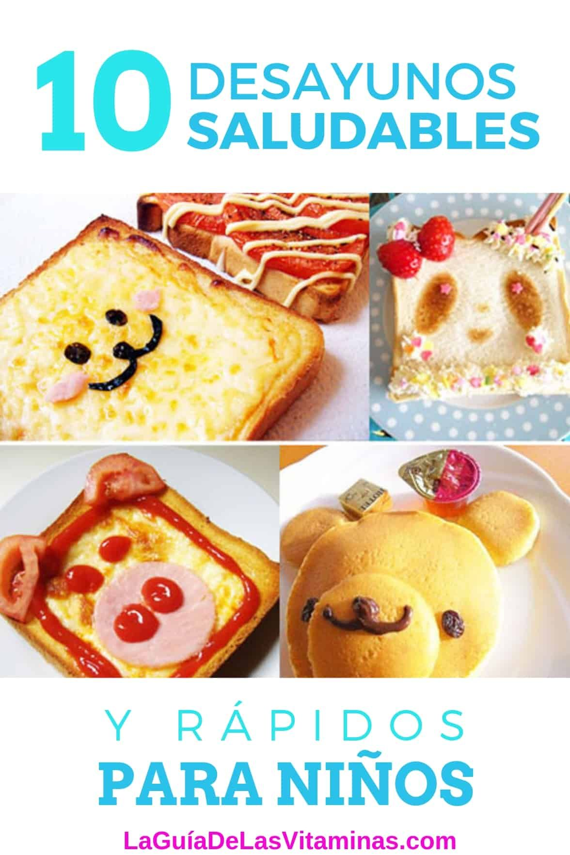 10 Desayunos Saludables Y Rápidos Para Niños Food Healty Food Easy Toddler Meals