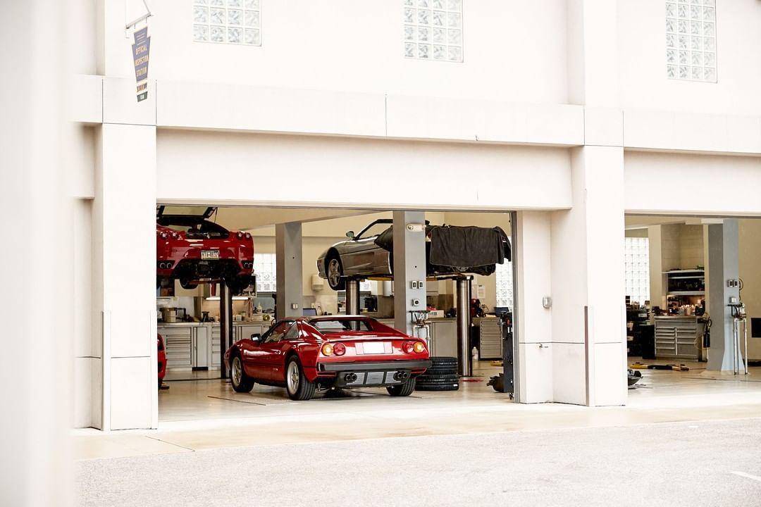 Algar Ferrari Of Philadelphia On Instagram Our Experienced Technicians Work On All Ferrari S New And Old Contact Our Servic Ferrari Technician Philadelphia