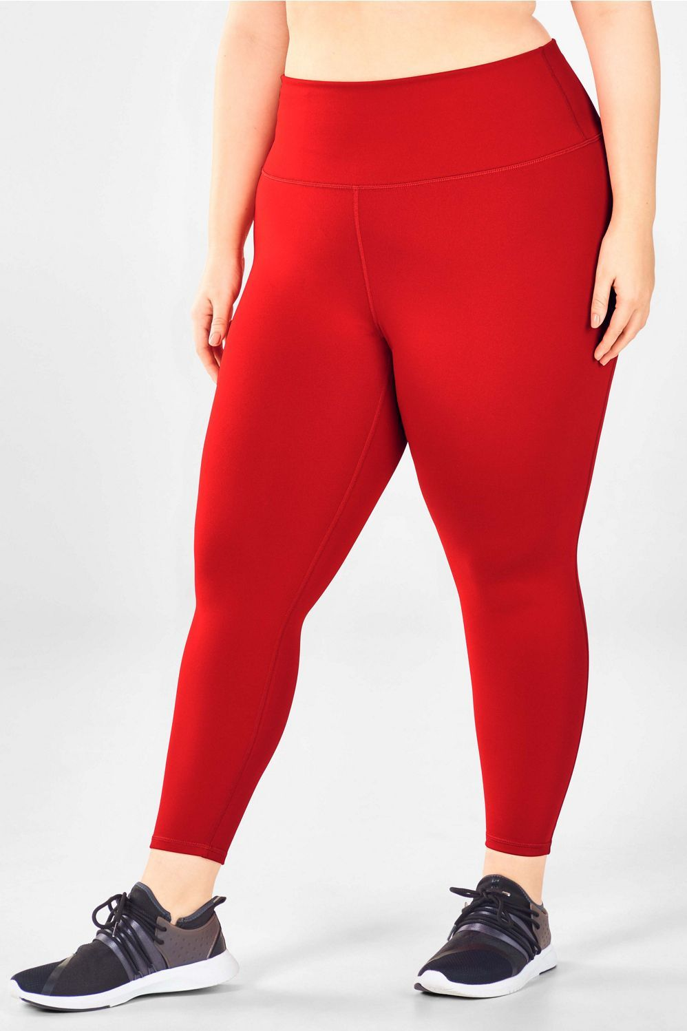 0236e3d118f High-Waisted Solid PowerHold® 7 8 - persimmon