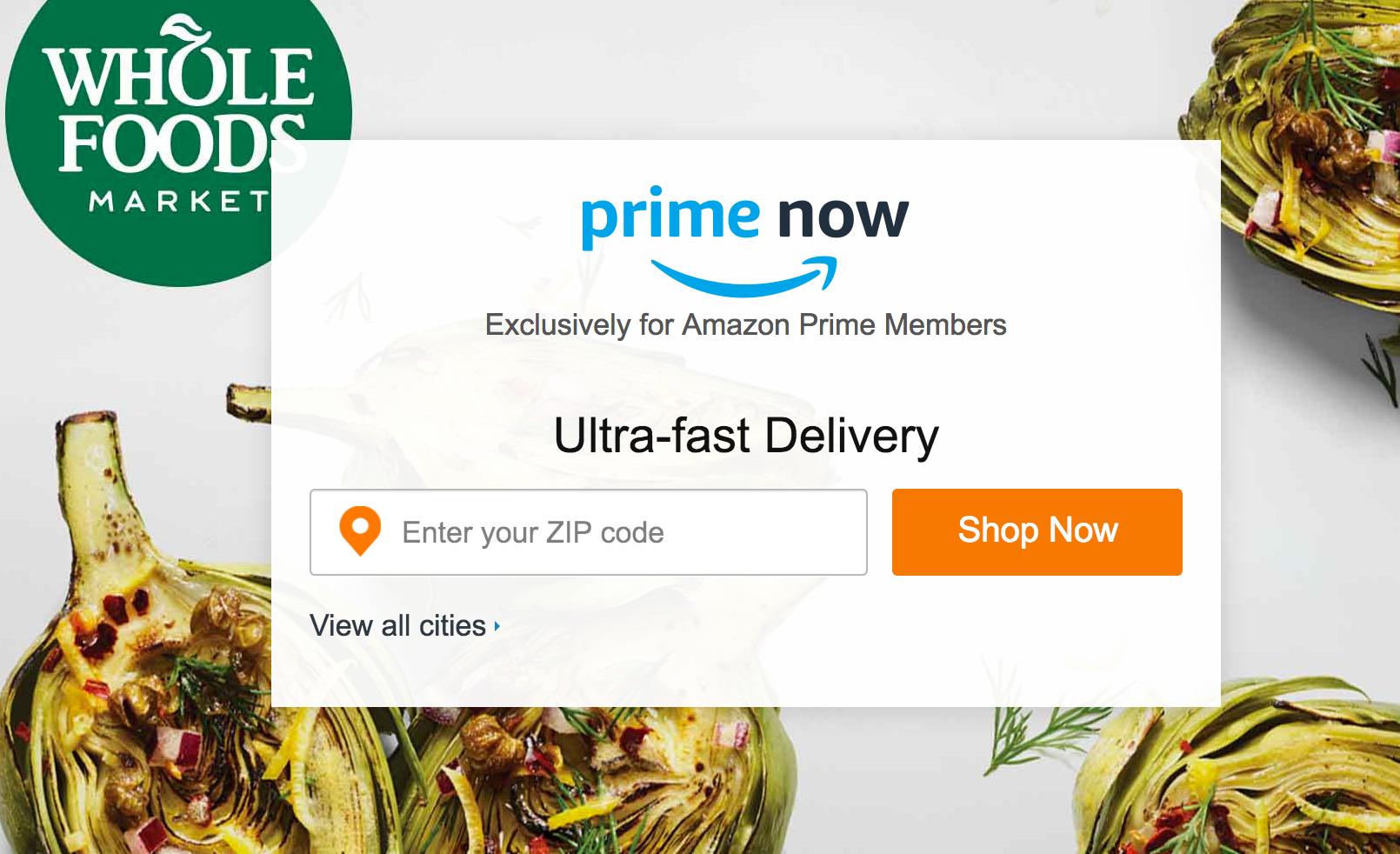 Save Money On Food At Disney World Using Amazon Prime Now
