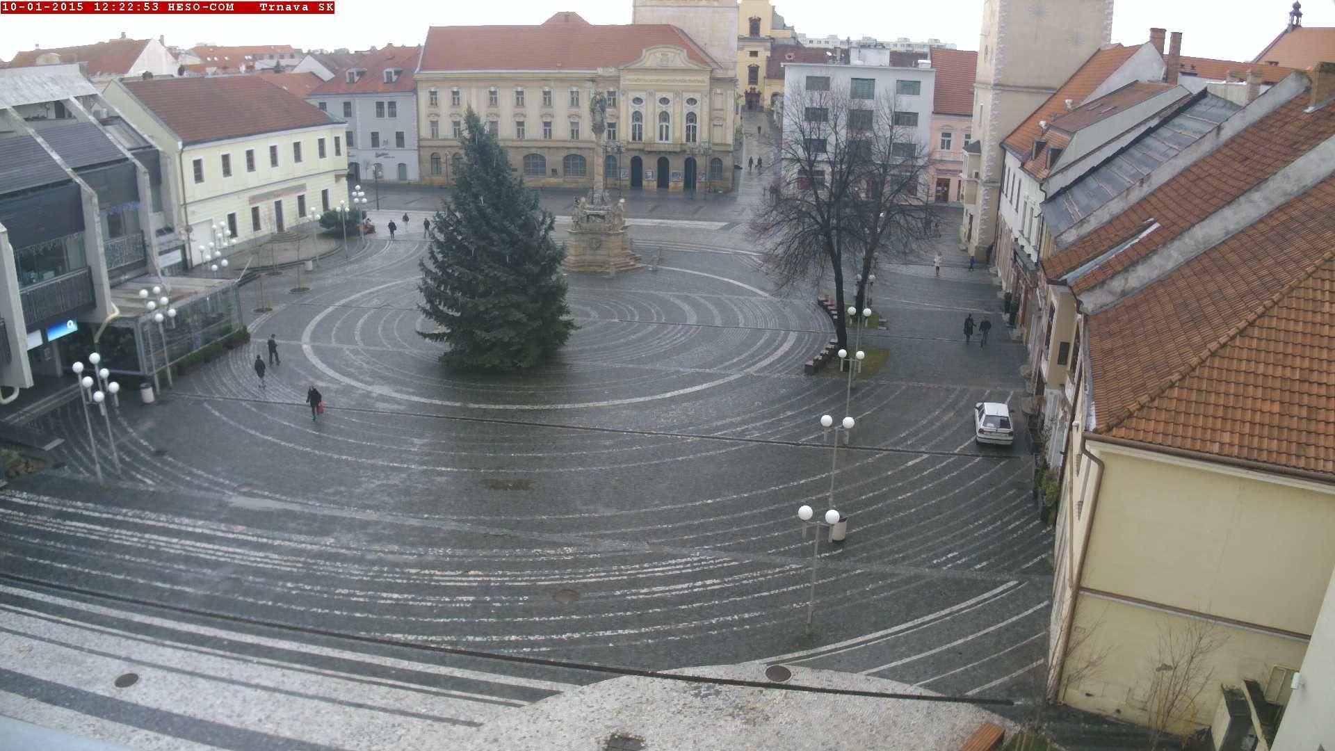 Trnava - Slovakia Live webcams City View Weather - Euro City Cam #Slovakia #Slovensko #webcam #niceview #travel #beautifulplace #street #view #cestovné #ulice #počasie #city