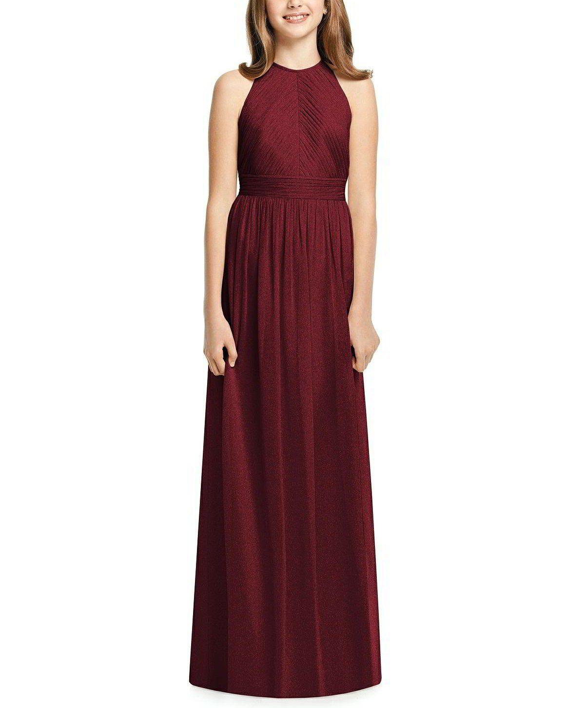 d3b4ef9f68 Description - Dessy Collection Junior Bridesmaid Style JR539 - Full length bridesmaid  dress - Junior version
