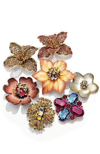 Alexis Bittar Encrusted Flower Statement Pin (Nordstrom Exclusive) | Nordstrom
