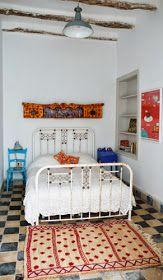 EN MI ESPACIO VITAL: Muebles Recuperados y Decoración Vintage: Quedamos en un bazar textil #gypsysetup