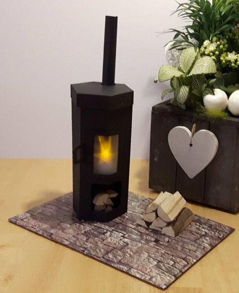geldgeschenke geldgeschenkverpackung ofen kaminofen ein designerst ck von bastelkoenigin de. Black Bedroom Furniture Sets. Home Design Ideas