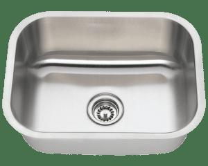 Revere Sinks St Louis Single Basin Kitchen Sink Stainless Steel