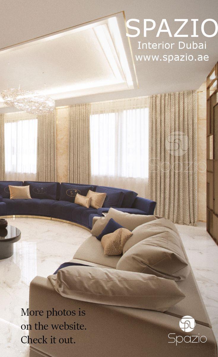 Luxury seating interior design and decor. Get more design ideas and ...