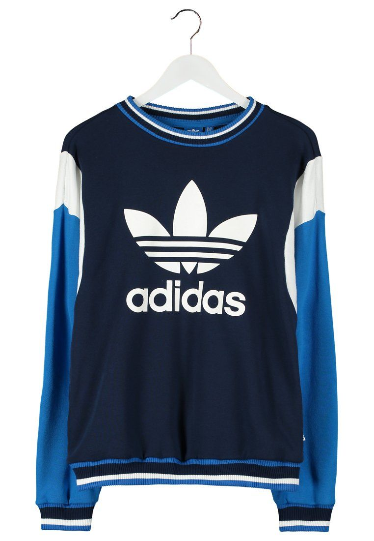 ba438a450385a adidas Originals - ARCHIVE - Sweatshirt - night indigo/bluebird/core white