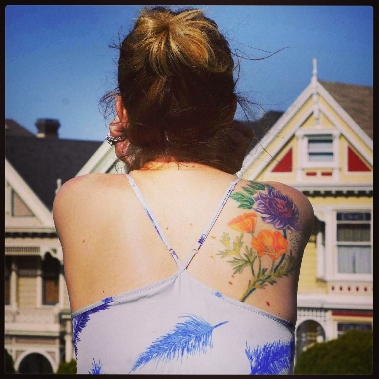 20 Botanical Tattoo Artists You Need To Follow For Your: Botanical Tattoo I California Poppies
