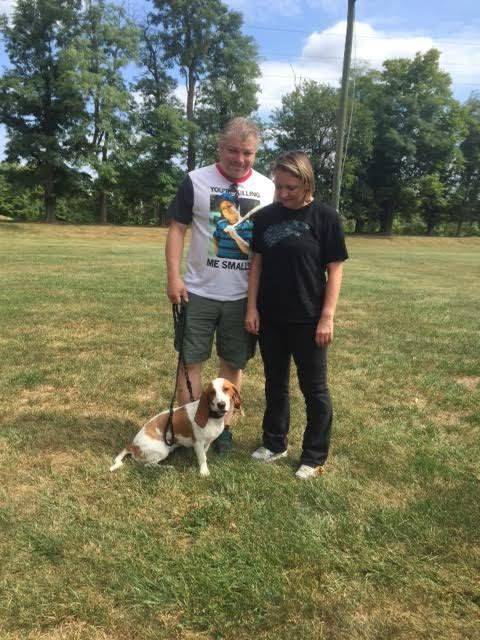 Recent Dog Training Graduate Arya With Scott And Michelle P