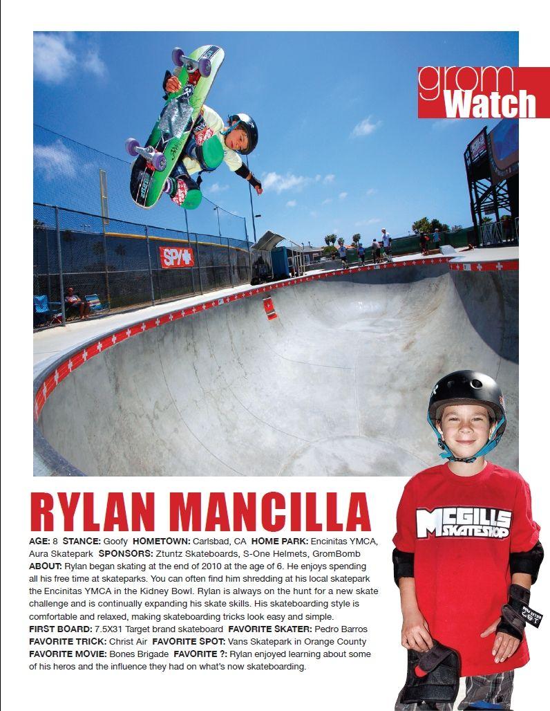 Issue 1, GromWatch: Rylan Mancilla