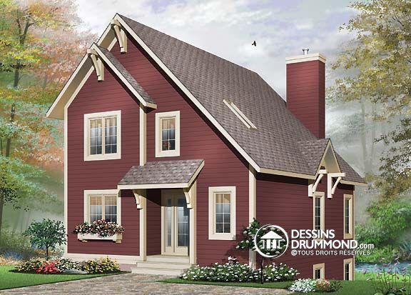 Détail du plan de Maison unifamiliale W3508 Earthy Homes