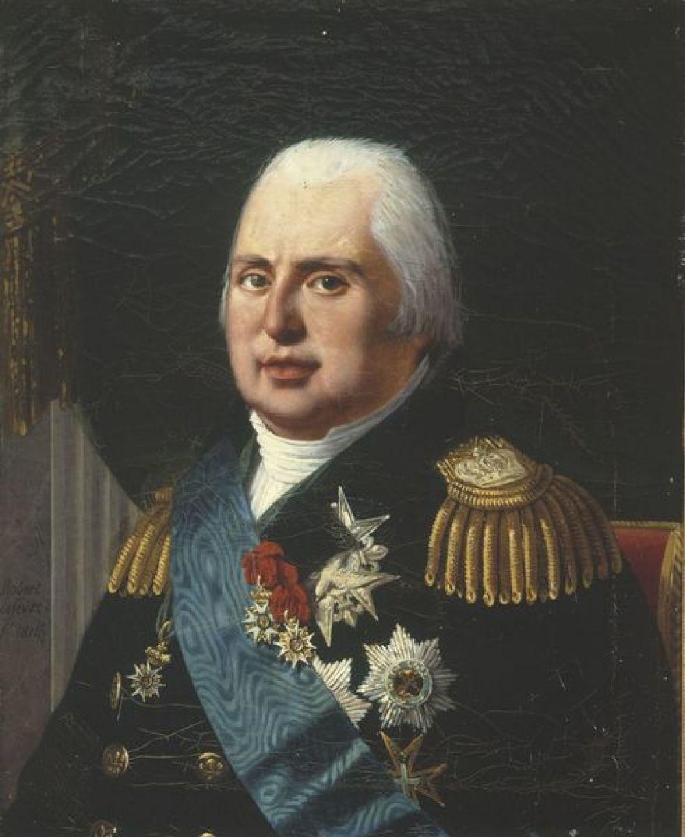 Portrait de Louis XVIII - Carnavalet