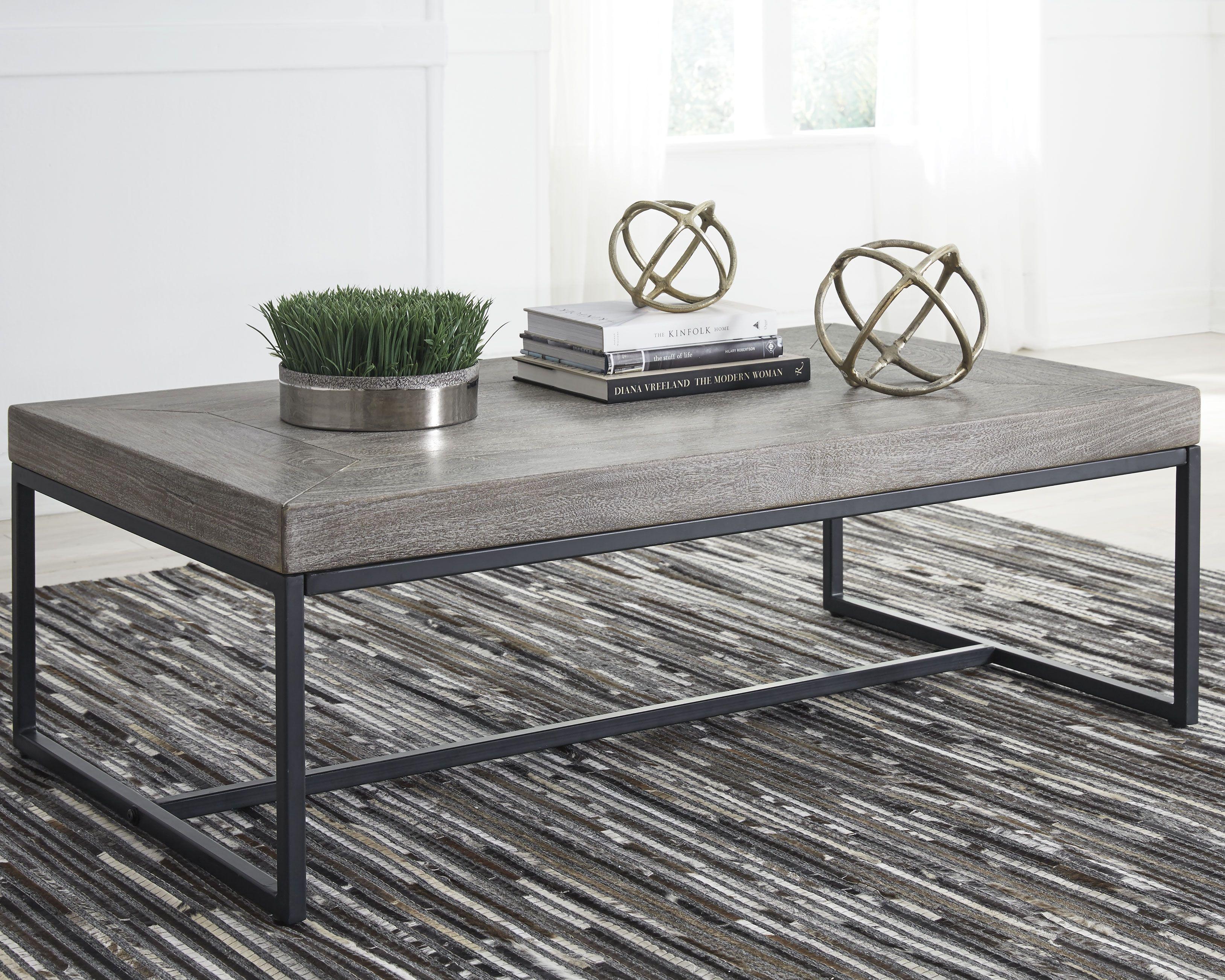 Brazin Coffee Table Gray Coffee Table Grey Coffee Table Elegant Living Room Decor